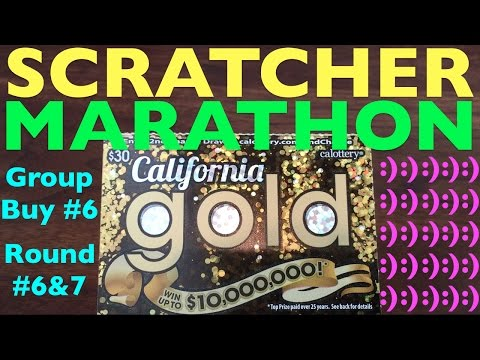 SCRATCHER MARATHON!!! Group Buy 6 Round 6 & 7
