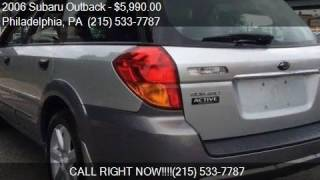 2006 subaru outback 2 5i awd 4dr wagon w manual for sale in