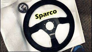 Quick Release Steering Wheel Install!!! (Sparco)