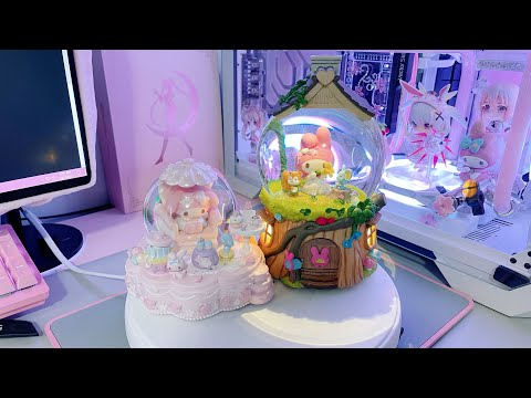 Enruiunni's unboxing video: Sanrio - My Melody x JARLL Snow Globe with music & lights