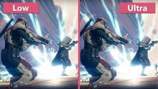 Destiny 2 – PC Detailed Graphics Settings Comparison @1080p