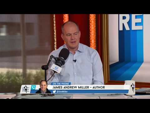 Author James Andrew Miller on ESPN Expanding Coverage Beyond Sports - 5/15/17