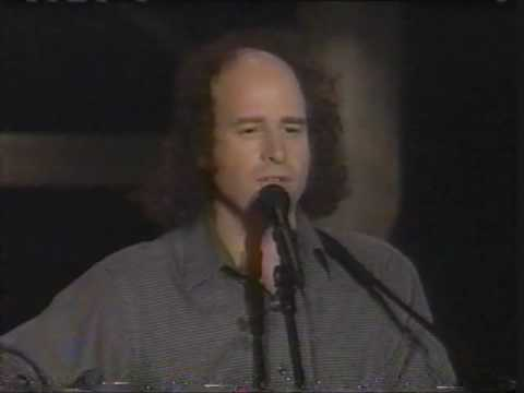 "Steven Wright ""Friend of Mine"" song on Letterman"