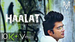 Halaat   Viral Music Records    Hitesh Pateriya   Official Music Video   Motivational Rap