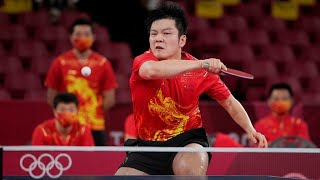 Fan Zhendong narrowly defeated Simon Gauzy in 5 games   Chinese men's team into the semi-finals!