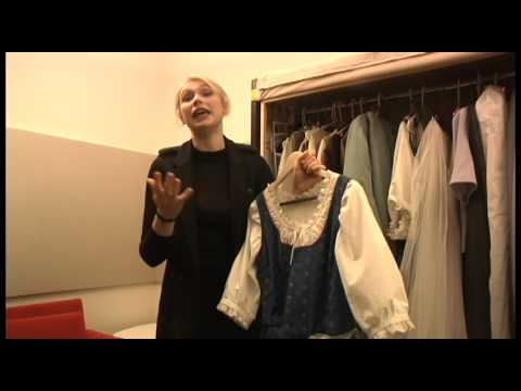 Behind the scenes of the Sound of Music: Maria's Costumes