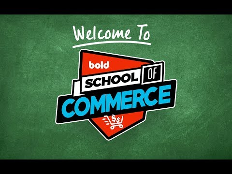 School of Commerce #20 - Start a drop shipping business this
