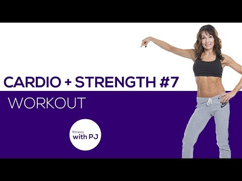 50-Minute Cardio + Strength #7 🍀