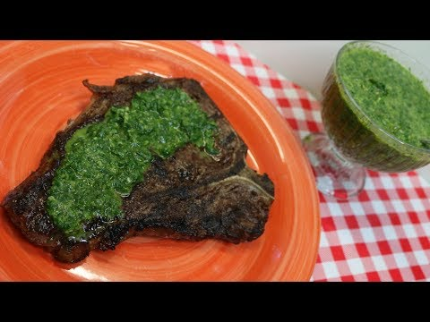 How to make Chimichurri Sauce ~Argentinian Fresh Herb Sauce & Marinade ~ Noreen's Kitchen
