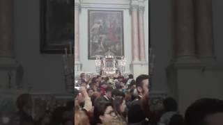 L'ingresso della Pecorella e della Banda in Cattedrale
