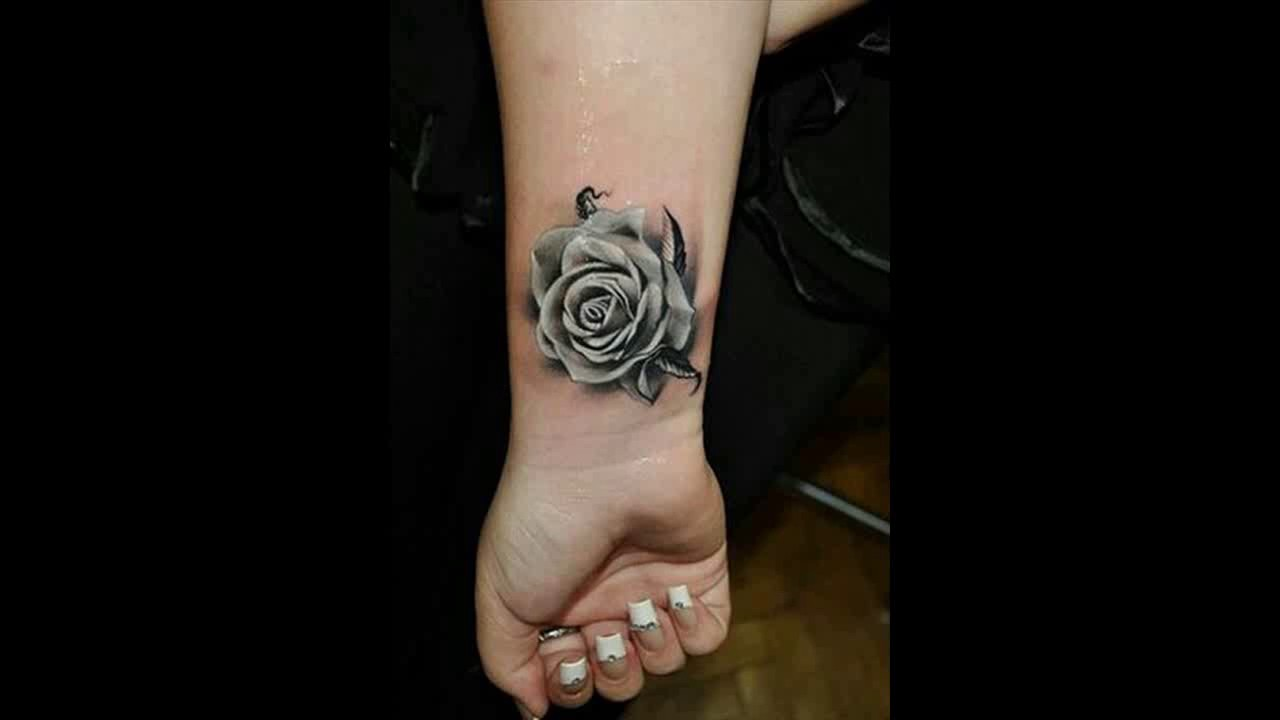 10 Beautiful Flower Tattoos For Your Wrist Pretty Designs Youtube