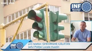 InfoHuedin.ro - Semafoarele din Huedin, in lucru