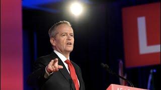 Australian Opposition Leader Bill Shorten Concedes Defeat to Prime Minister Scott Morrison