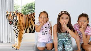 As crianças realmente querem ter um animal de estimação (شفا خافت من النمر - ) - MC Divertida