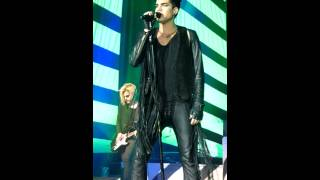 "Adam Lambert in Kiev 18/03/2013 - the song ""Dragon attack"" and ""Shady"""