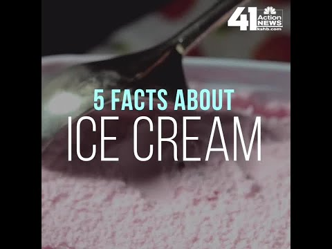 5 Facts About Ice Cream