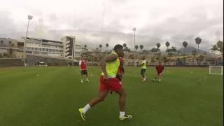 Pre Season Football Training - Kadeem Harris