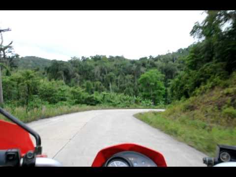 road trip palawan, road between taytay and roxas