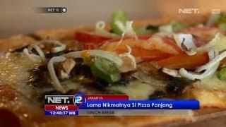 NET12 - Lunch Break - Pizza Persegi Panjang di Porter House