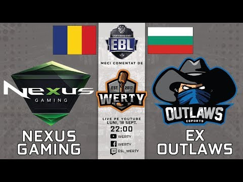 (LIVE RO CS:GO) NEXUS GAMING (RO) vs. EX-OUTLAWS (BG) - BALKAN LEAGUE $23,000