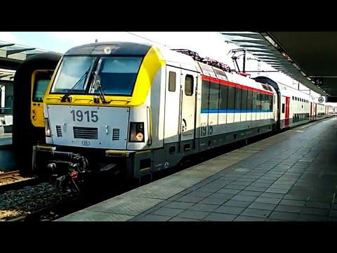 EuroCity @ Station Brügge , Belgium & Metro @ Brussels Schuman metro station by Auritro Paldas