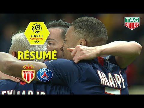 Monaco PSG Goals And Highlights
