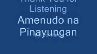 Amenudo N Pinayungan.wmv