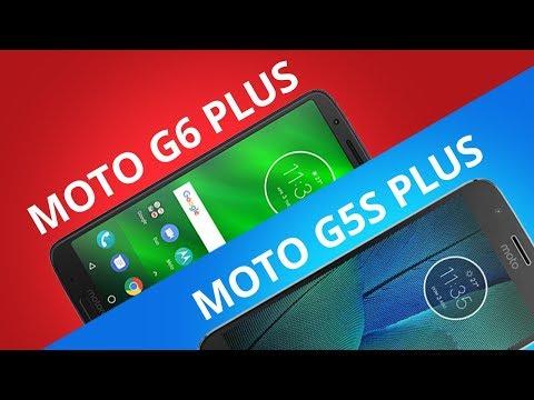 Moto G5S Plus vs Moto G6 Plus [Comparativo]