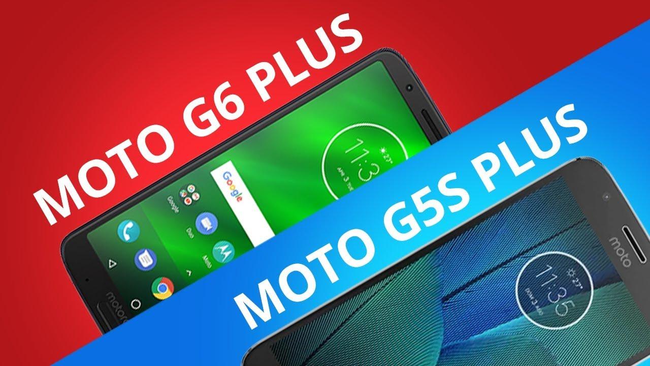diferencia entre moto g5 y g5 plus