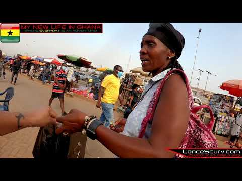 ANOTHER SWEET DAY AT THE MADINA MARKET! - THE LANCESCURV SHOW