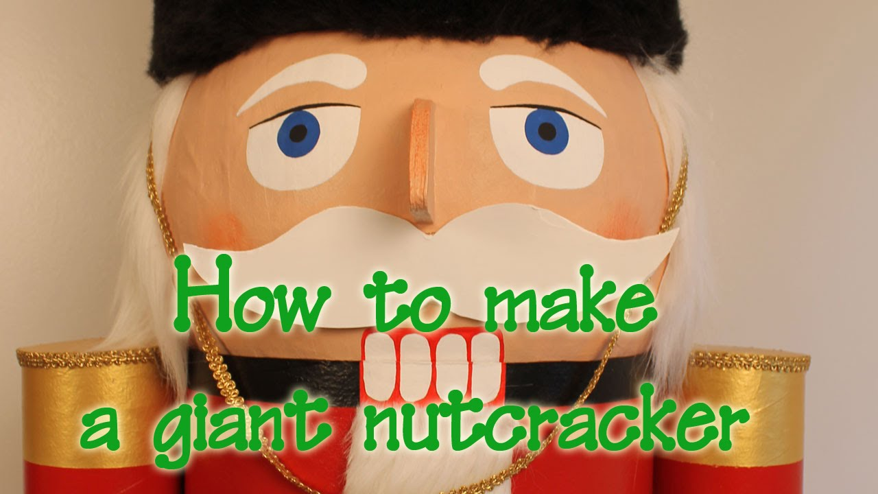 How to make a nutcracker christmas decoration - How To Make A Nutcracker Christmas Decoration 36