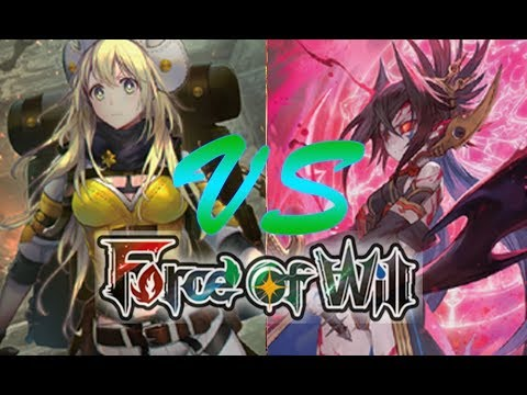 Force of Will (TCG) Prerelease Match:...