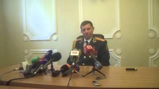 Глава Донецкой Народной Республики отвечает на вопросы журналистов