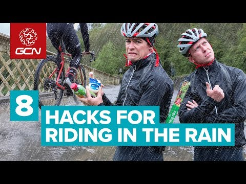 8 Hacks For Riding In The Rain And Wet Weather