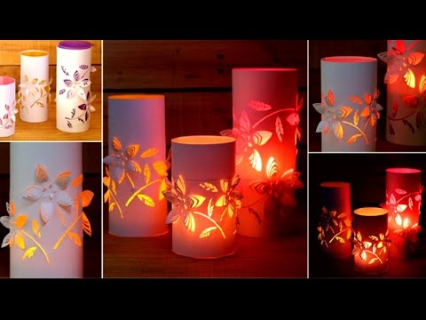 How to make Fancy paper lantern || Diwali lantern || christmas decorations || paper lantern ideas