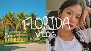 미국 플로리다 여행 브이로그😎 (feat. JMT 스테이크 맛집, Dog beach, 그리고 또 💵탕진...)
