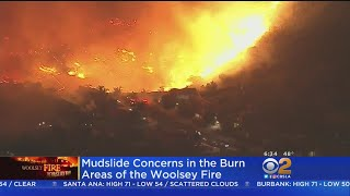 Woolsey Fire Evacuees Now Getting Ready For Rain, Possible Mudslides