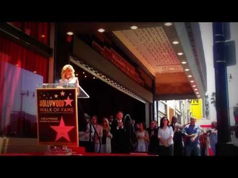 Kristin Chenoweth Walk of Fame Star Ceremony