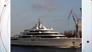 Símbolo de riqueza: veja como são fabricados os luxuosos iates dos famosos