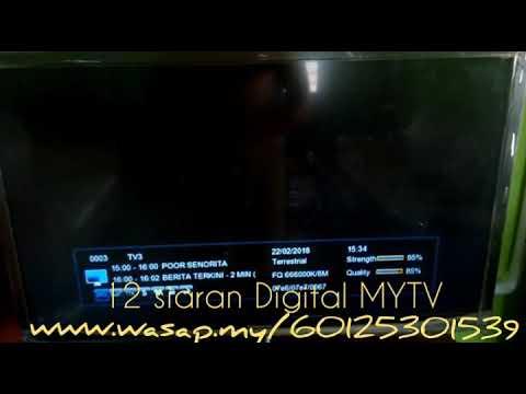 Digital TV Malaysia - Siaran PERCUMA MYTV by Kodiang Kedah