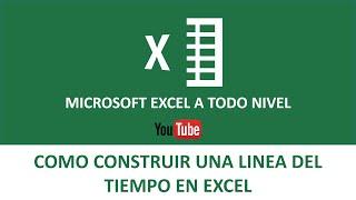 Linea del Tiempo en Excel   Cálculo del tiempo en Excel