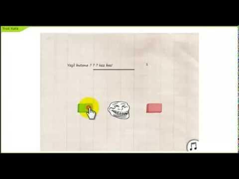 Troll Kafa Oyunu Tam çözüm (HD)