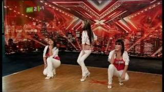 The X Factor  shocking scene