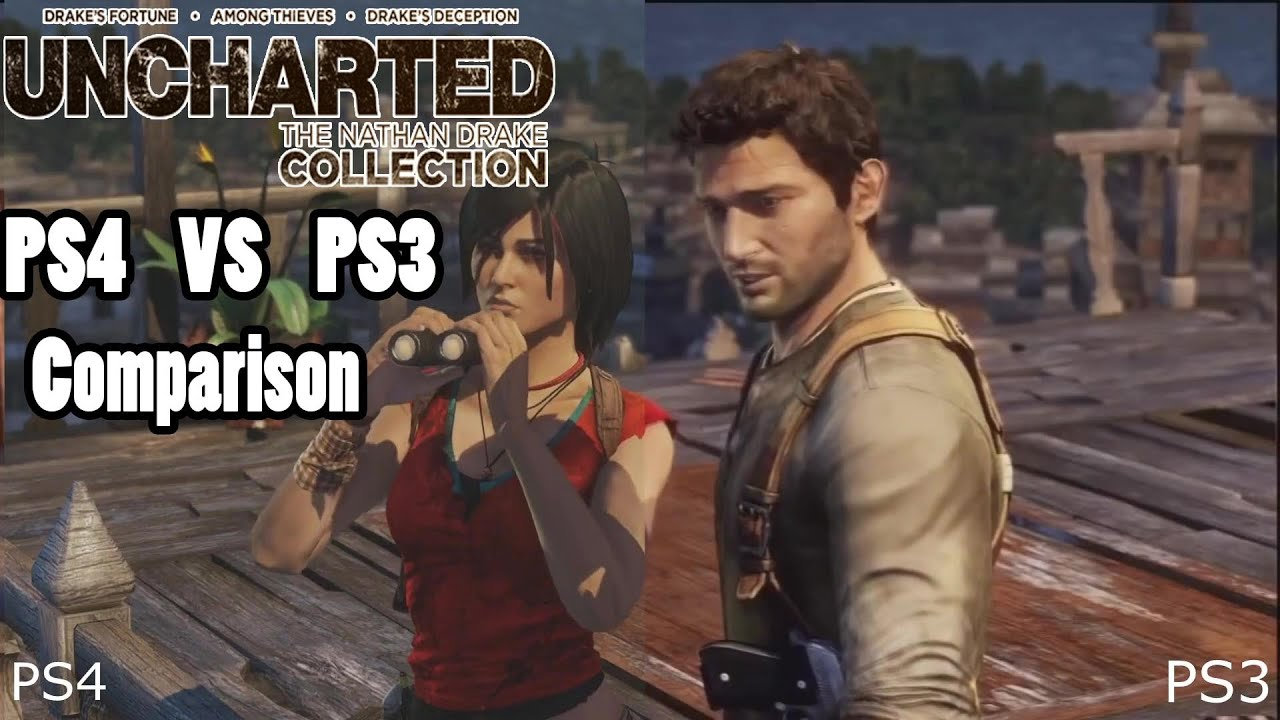 Uncharted The Nathan Drake Collection Graphics Comparison Ps4