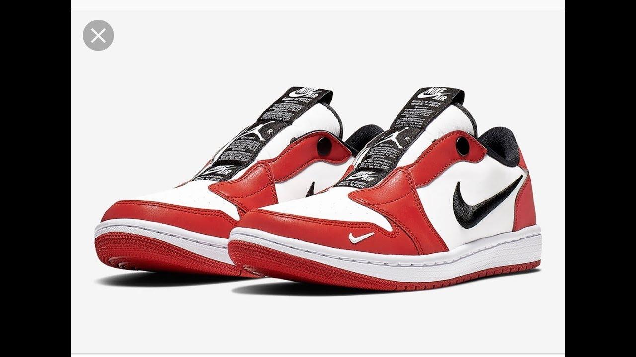 "bfb40cccd221 Women s Air Jordan 1 Low Slip ""Chicago"" Sneaker Review - YouTube"