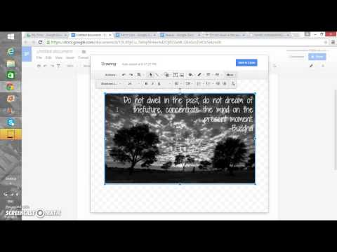 how to add text in google docs