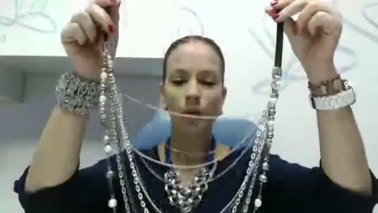 ee8f7f23ea8e Resumen Curso Online  Collar Cadenas y Cuero. Farfalla Materiales para  Bisutería
