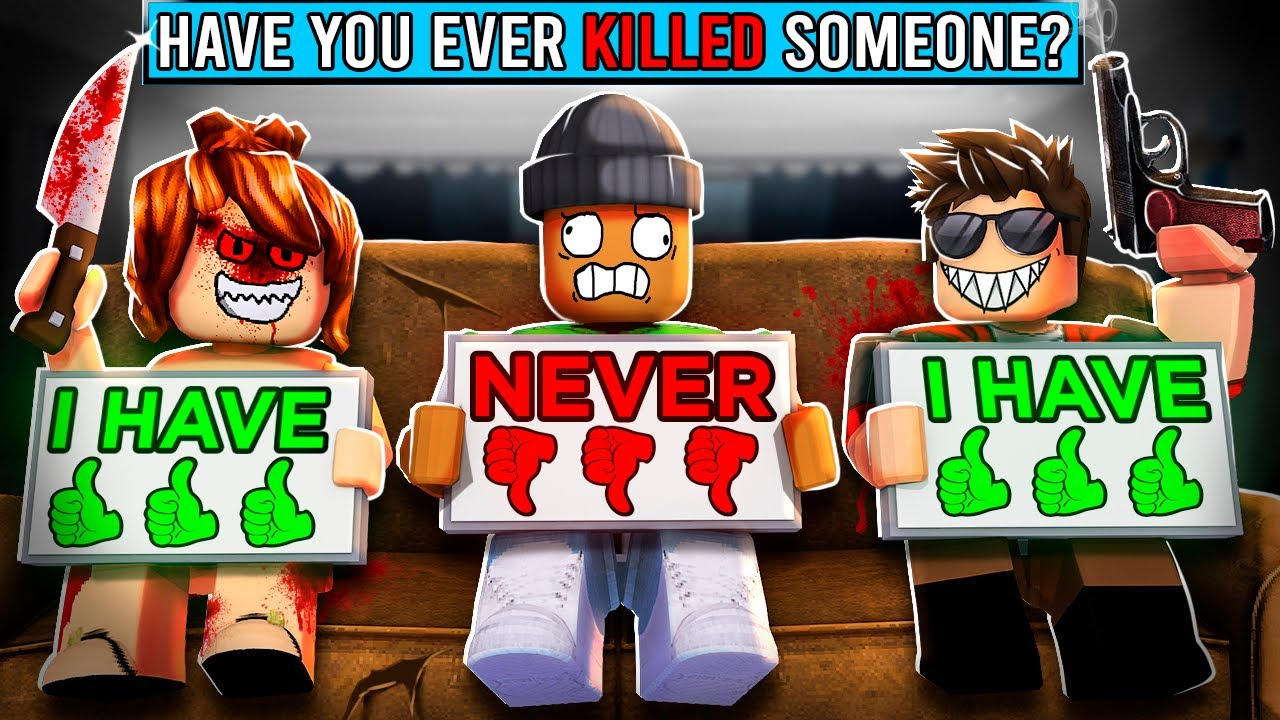 ROBLOX NEVER HAVE I EVER...
