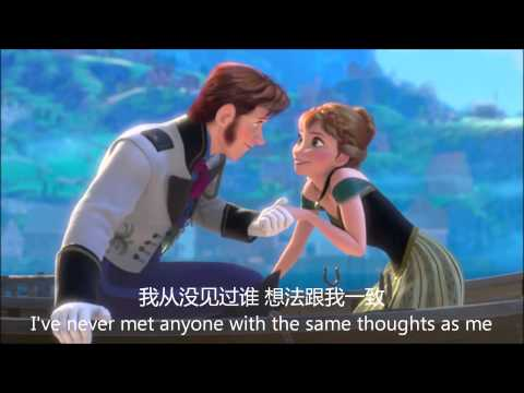 Love is an open door HD Audio (Mandarin Sub Trans) 爱的门打开了 高清