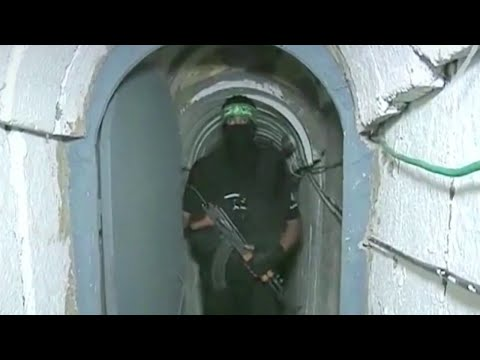 Israel Race Against Hamas Tunnel Building